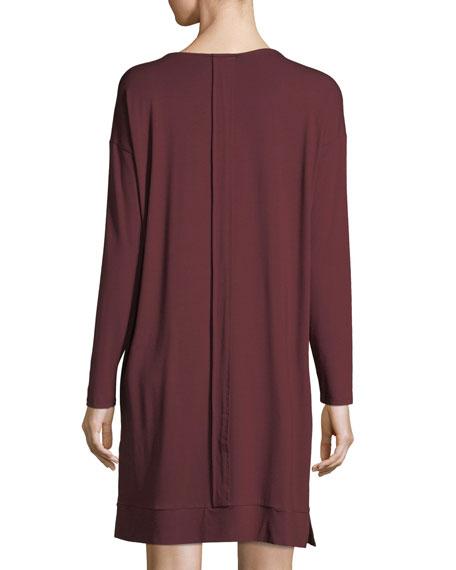 Lightweight Jersey Knee-Length Dress, Petite
