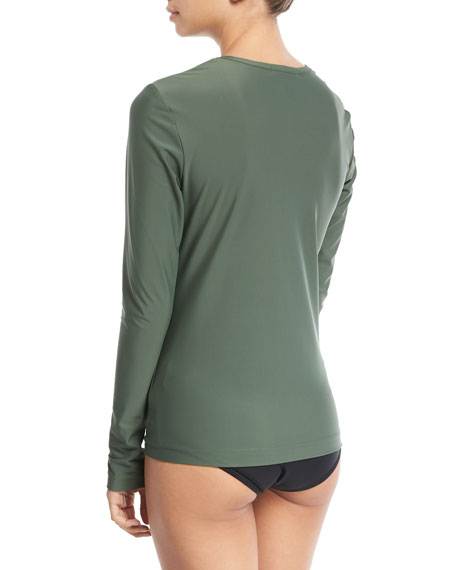 Perfect UPF 50 Long-Sleeve Swim Tee