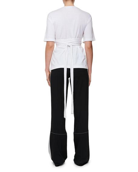Wrap Bustier T-Shirt