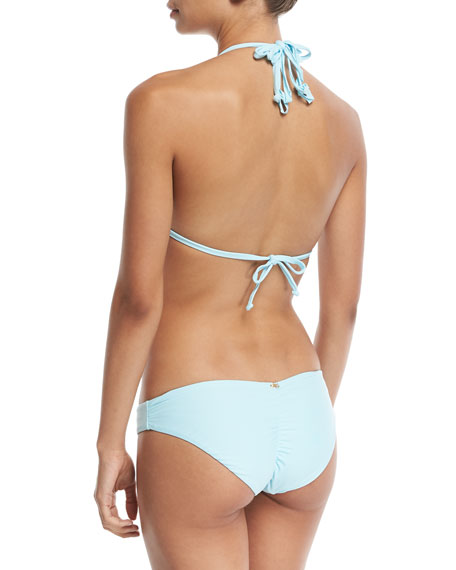 Isla Solid Braided Triangle Swim Top