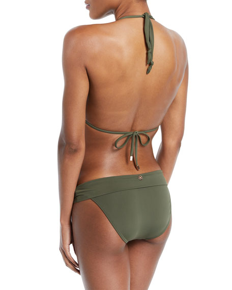 Bia Solid Swim Top, Green (Available in Extended Cup Size)