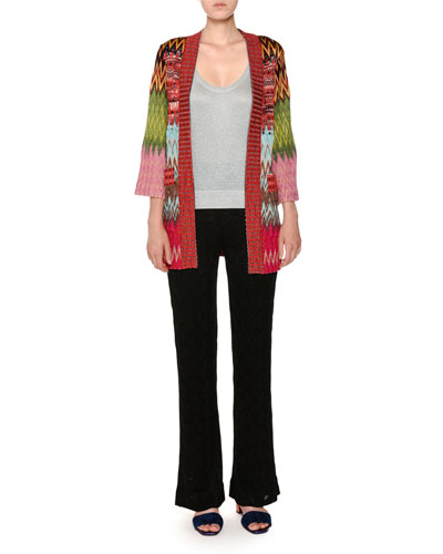Scoop-Neck Lurex® Knit Tank Top and Matching Items