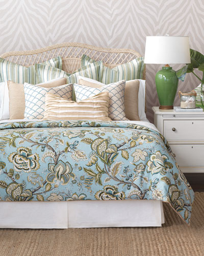 Charleston Queen Duvet and Matching Items