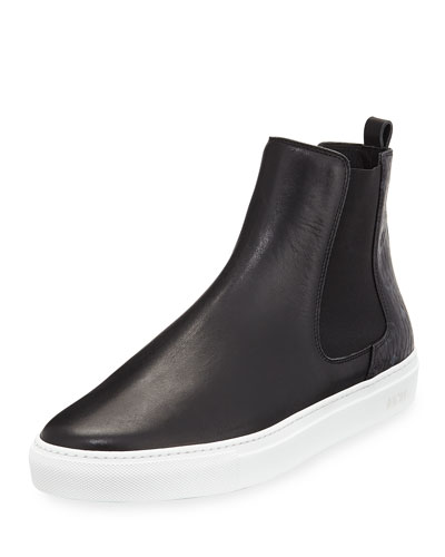 Visetos & Leather Chelsea Boot and Matching Items