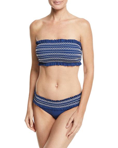 Costa Bandeau Swim Top