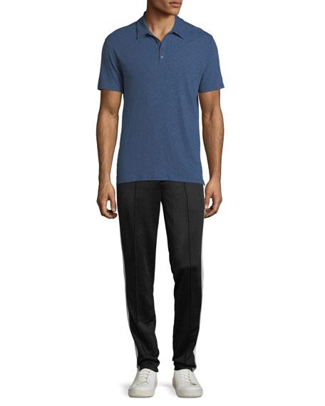 Raw-Edged Polo Shirt