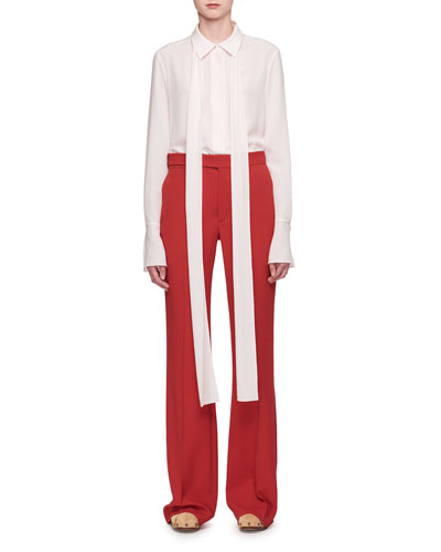Cady Mid-Rise Flared Pants and Matching Items
