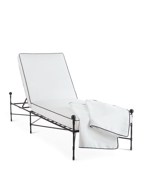 Avery Neoclassical Chaise Replacement Cover
