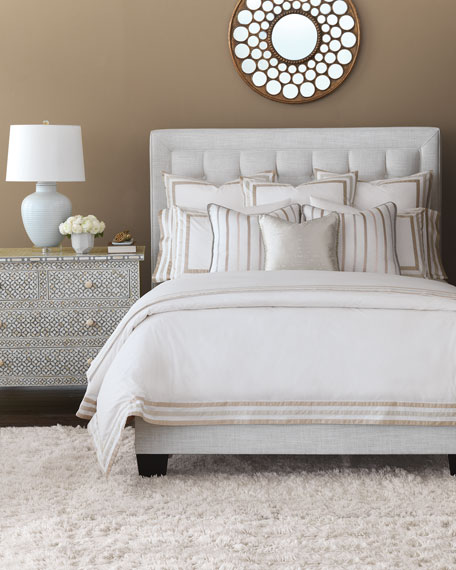 Watermill Taupe King Duvet