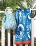 Lita Tote & Vaya Towel, Blue