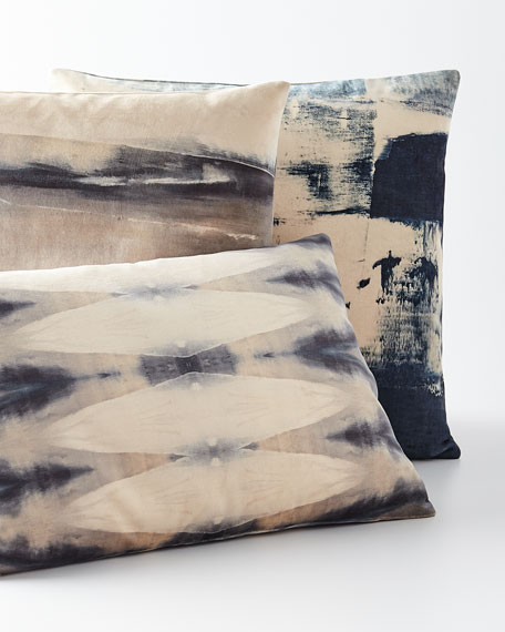 """Coastals End Pillow, 20""""Sq."""