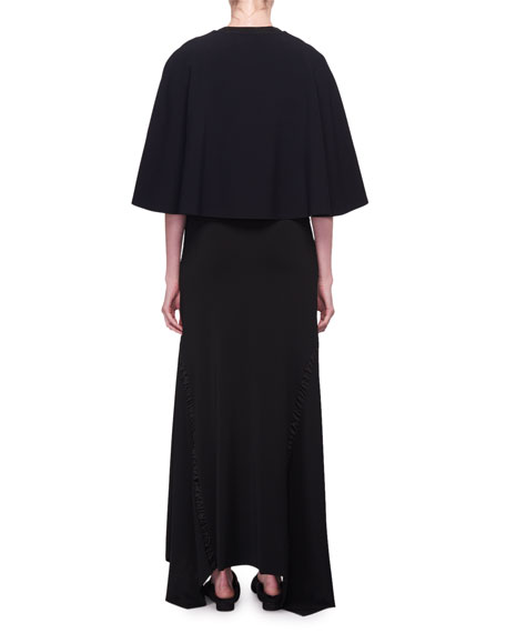Marcy Crewneck Cape Top