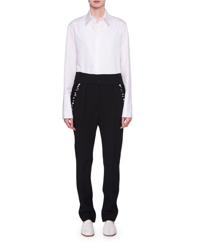 Joshua Long-Sleeve Poplin Shirt and Matching Items