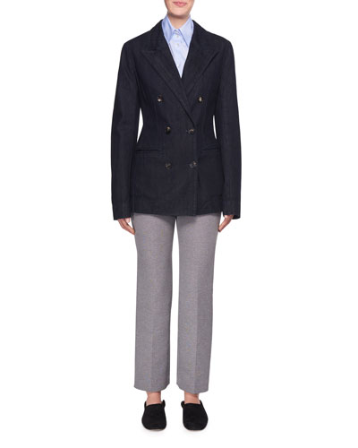 Mavery Mid-Rise Straight-Leg Pants and Matching Items