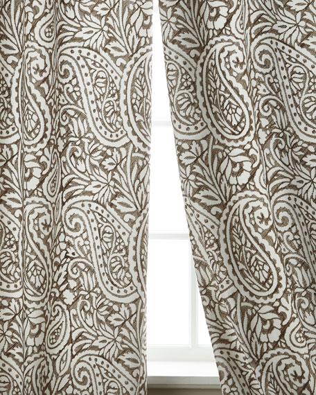 """Rapture Linen/Cotton Drape, 108""""L"""