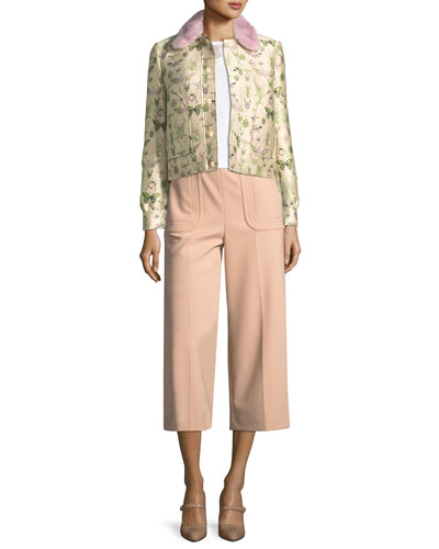 Cady Tech-Crepe Crop Pants and Matching Items