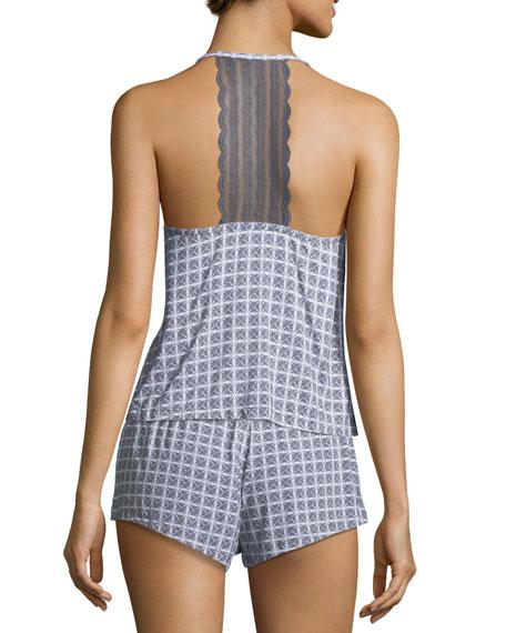 Sweet Dreams Geometric-Print Camisole