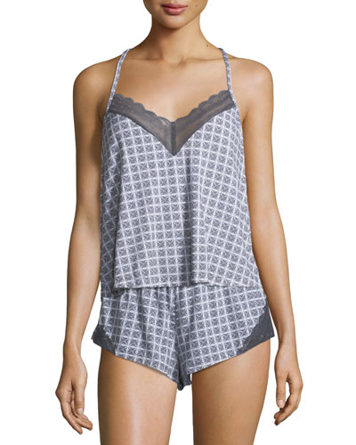 Sweet Dreams Geometric-Print Camisole and Matching Items