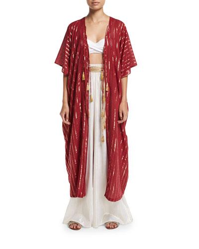 Nadira Metallic Coverup Pants and Matching Items