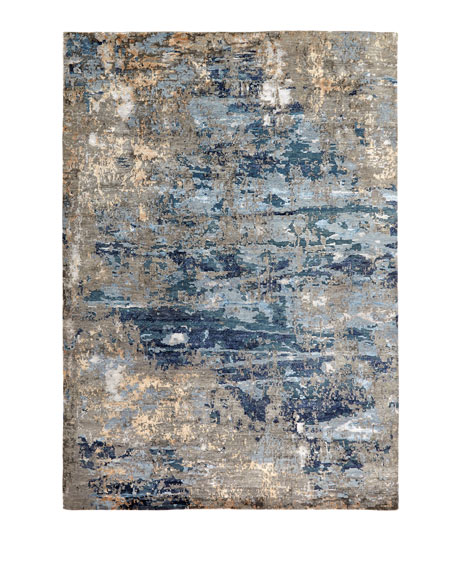 "Tala Hand Knotted Rug, 2'6"" x 10'"