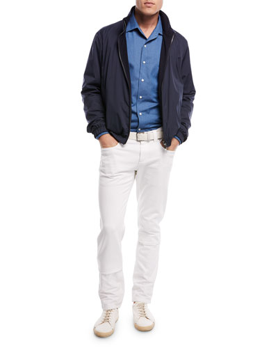 Tasche 5-Pocket Slim-Fit Denim Jeans and Matching Items