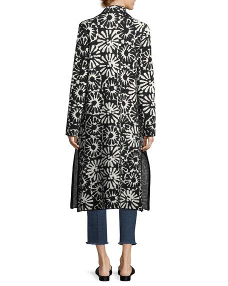 Rosalie Pomela Floral-Print Coat