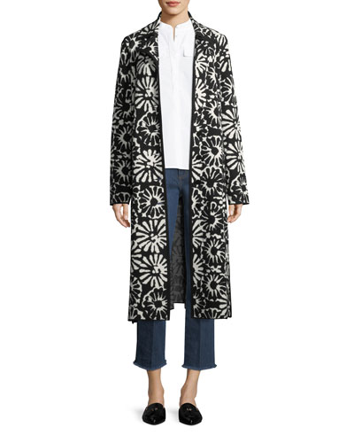 Rosalie Pomela Floral-Print Coat and Matching Items