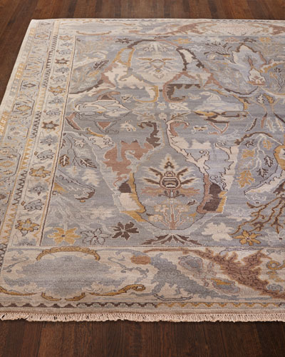 Amata Hand-Knotted Rug, 6' x 9'  and Matching Items