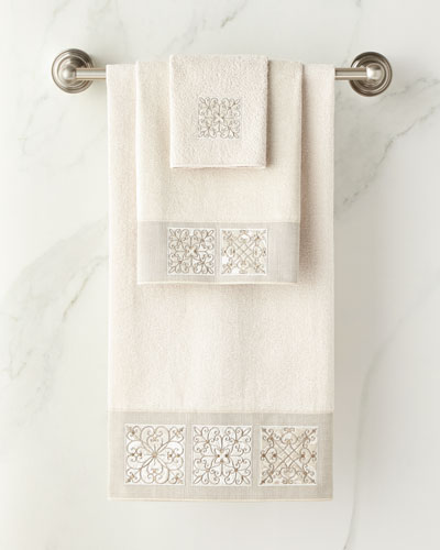 Ironwork Bath Towel  and Matching Items