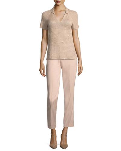 Thompson Straight-Leg Wool Pants and Matching Items