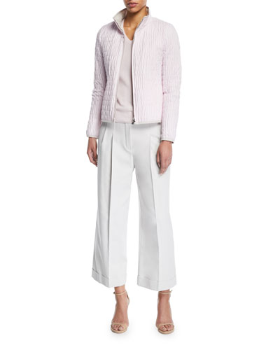 Kilian Cropped Wide-Leg Pants and Matching Items