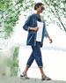 Tencel® Organic Cotton Denim Kimono Jacket, Plus Size