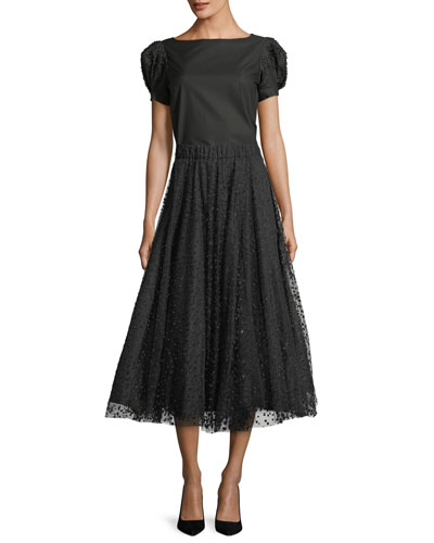 Dotted Tulle Circle Midi Skirt and Matching Items
