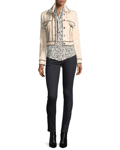 Brooke Mid-Rise Skinny Jeans and Matching Items