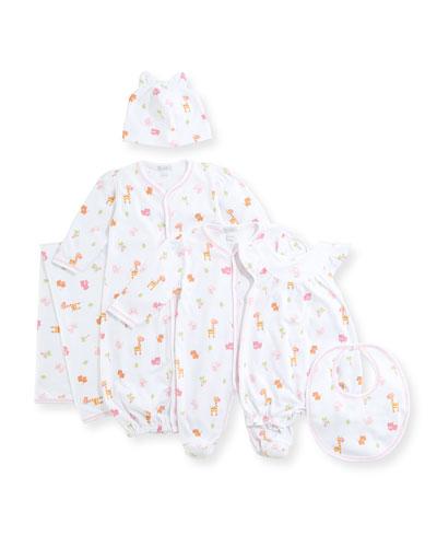 Safari Stroll Pima Footie Pajamas, Size Newborn-9M and Matching Items