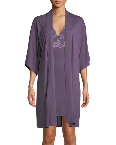 Shangri-La Jersey-Knit Robe and Matching Items