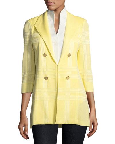 Sleeveless Stretch-Cotton Shirt  and Matching Items
