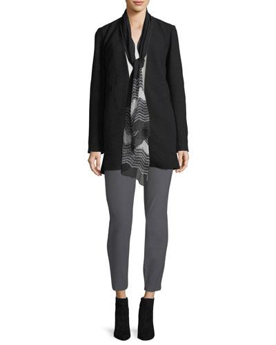 Long Silk Jersey Tunic and Matching Items