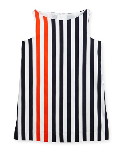 Nautical Stripe Angular Shift Dress, Size 8-16  and Matching Items