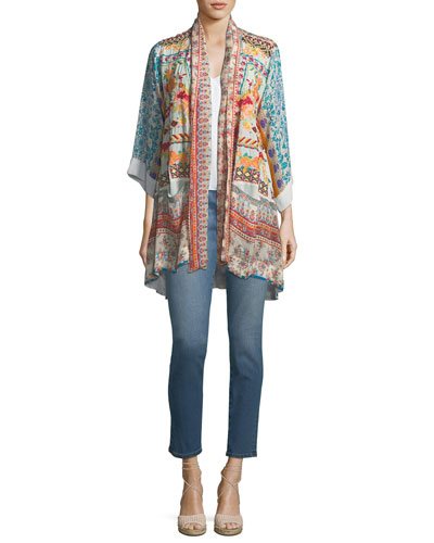 Embroidered Skinny Ankle Jeans  and Matching Items