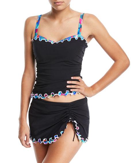 Serendipity Sweetheart Tankini Swim Top, Plus Size