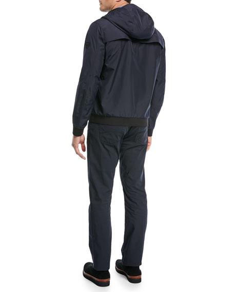 Lightweight Technical Hooded Jacket