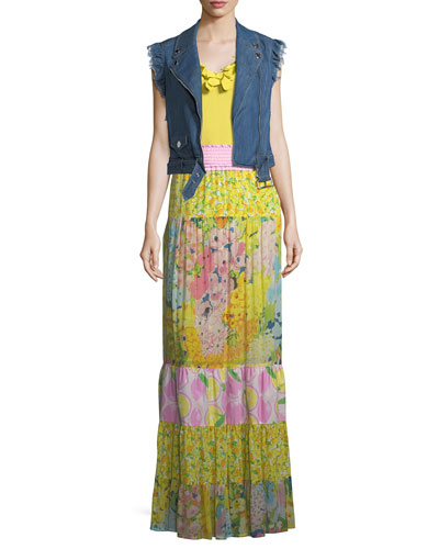 Patchwork Maxi Skirt and Matching Items
