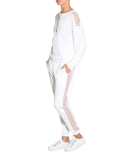 Illusion Self-Tie Joggers and Matching Items