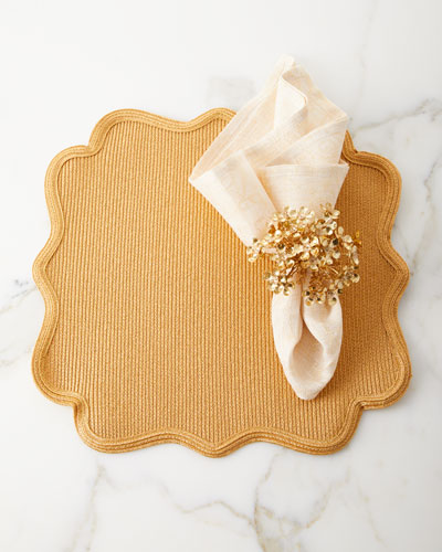 Lurex Orleans Placemat  and Matching Items