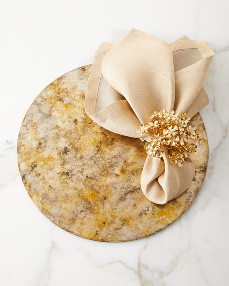 Reversible Metallic Napkin