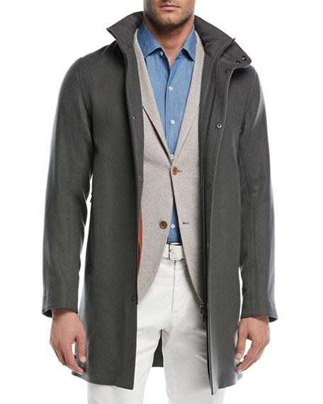 Shieldey Cashmere Winter Light Coat