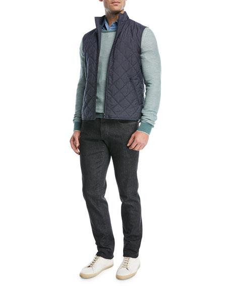 Lightweight Wool-Blend Crewneck Sweater