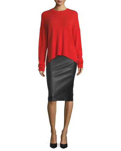 Karena L. Long-Sleeve Cashmere Sweater and Matching Items