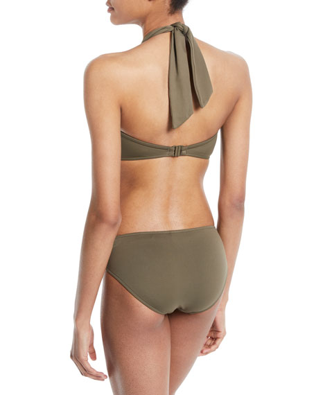 Twisted Bandeau Swim Top